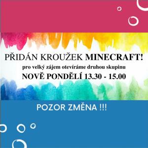 Pozor NOVINKA - Minecraft s programováním