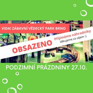 Celodenní výlet - VIDA! Brno