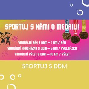 Sportuj s námi o medaili!